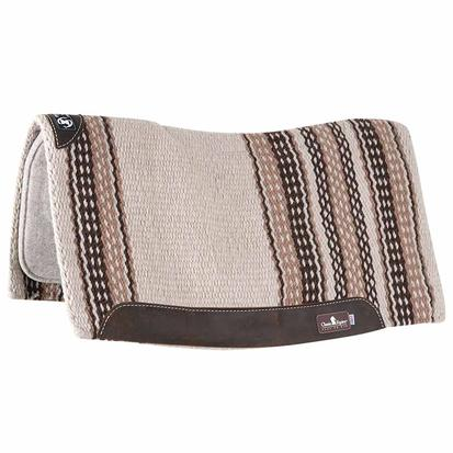 Classic Equine Zone Series Blanket Top Pad 32x34 CR/CH