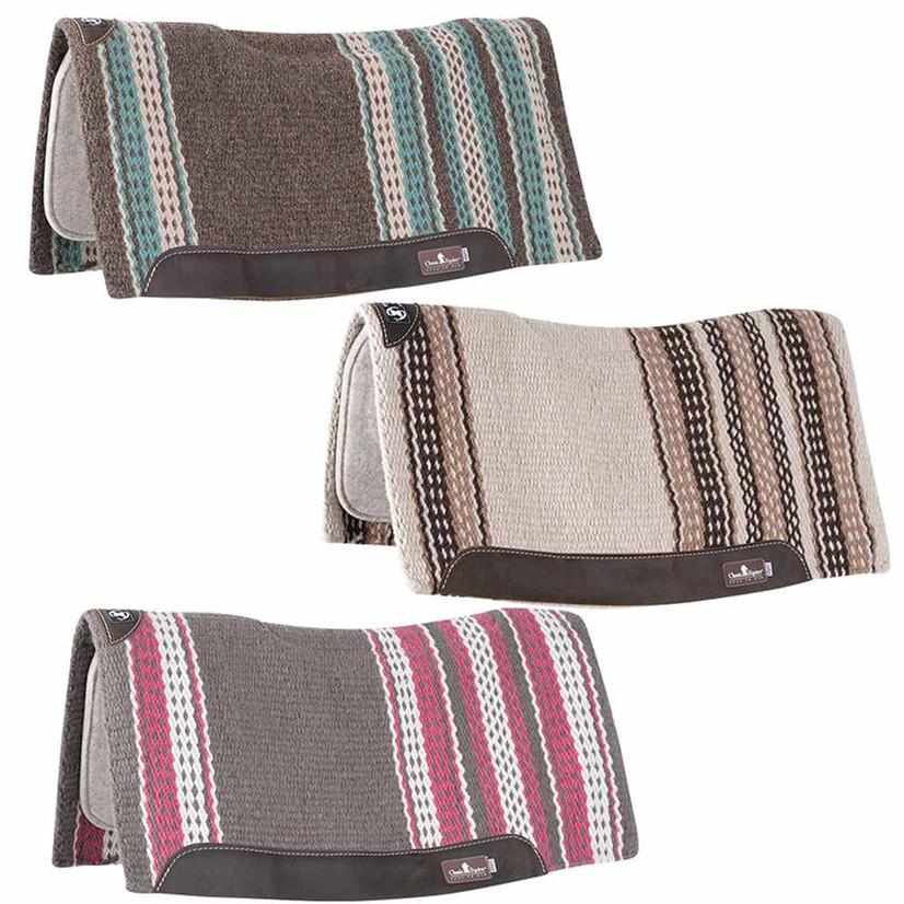 Classic Equine Zone Series Blanket Top Pad 32x34