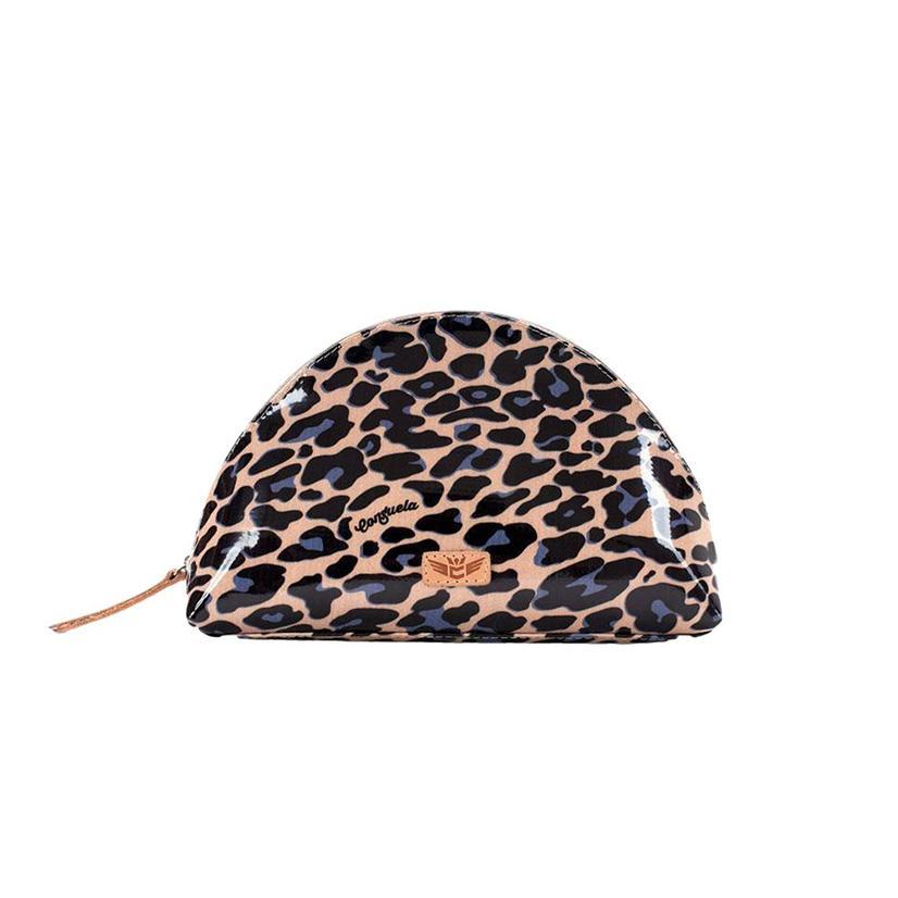 Consuela Legancy Blue Jag Cosmetic Bag