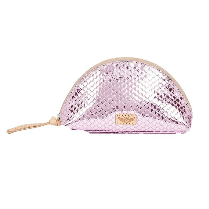 Consuela Elle Medium Pink Cosmetic Case