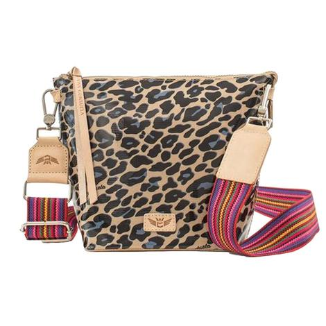 Wedge Blue Jag Tote by Consuela