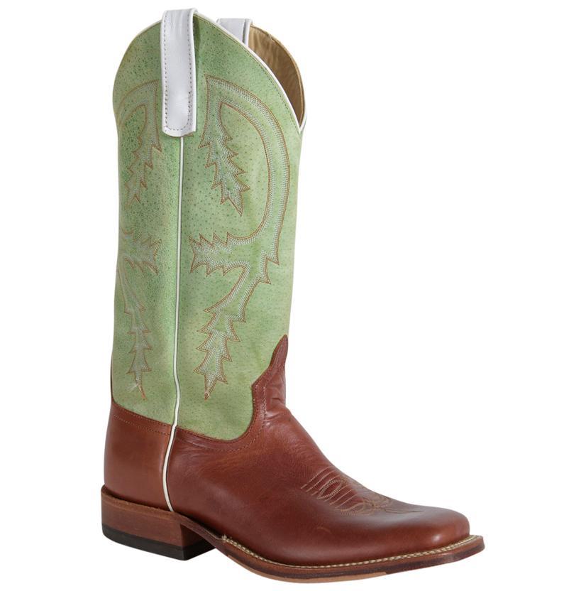 Anderson Bean Men's Lime Sensation Copper Cow Boots