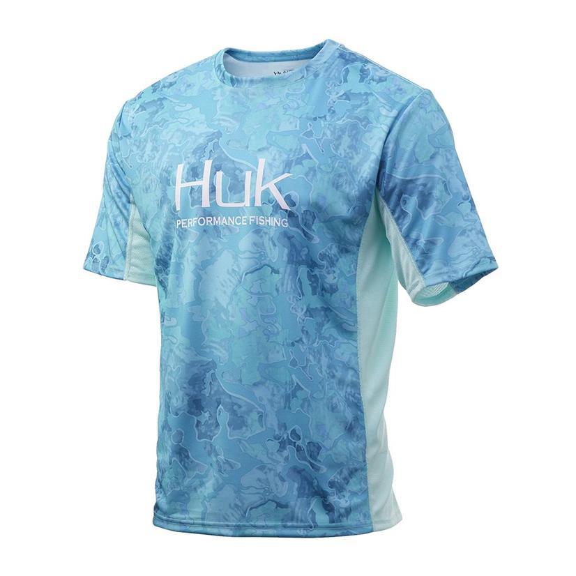 Huk Icon X Camo Boca Grande Short Sleeve Men's Shirt
