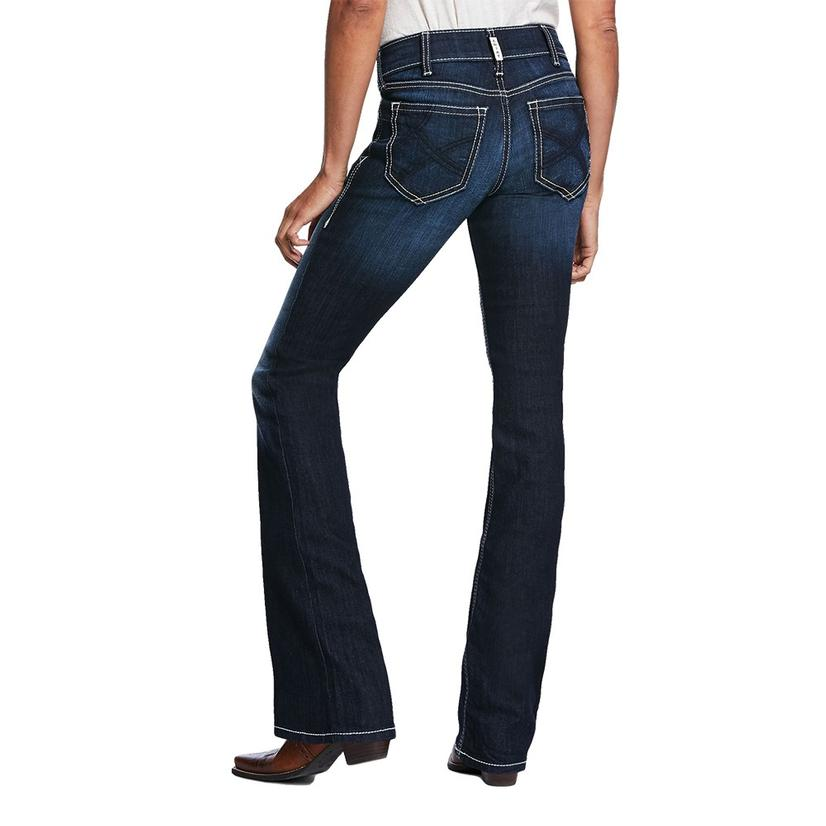 Ariat R.E.A.L.Ella Satin Stitch Boot Cut Jeans