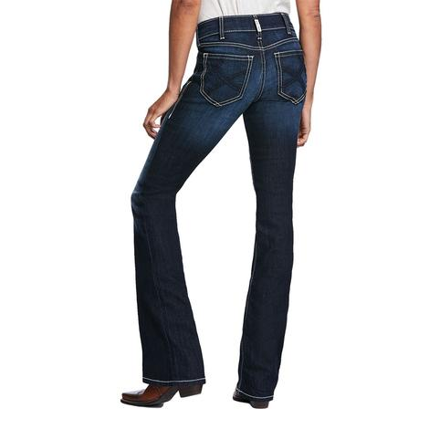 Ariat R.E.A.L. Ella Satin Stitch Boot Cut Jeans