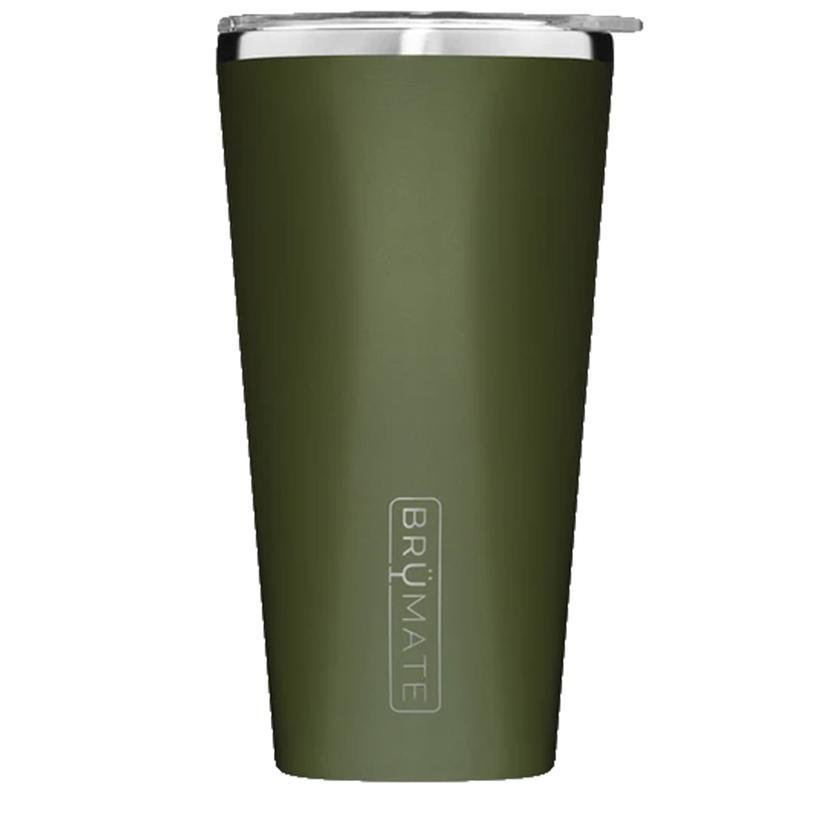 Brumate Imperial Pint 20oz Od Green