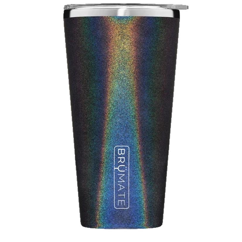 Brumate Imperial Pint 20oz Glitter Charcoal