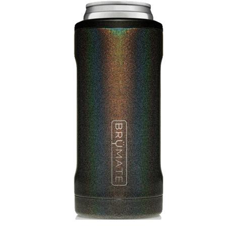 Brumate Hopsulator Slim 12oz Glitter Charcoal