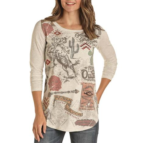 Panhandle Natural Vintage Poster Women's Tunic
