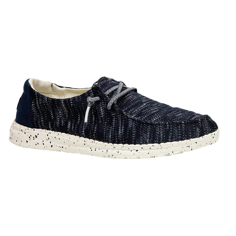 Hey Dude Wendy Sox Navy Women's Shoes