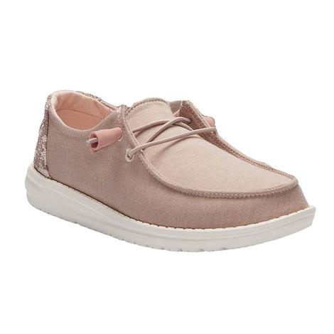 Hey Dude Wendy Sparkling Rose Women's Shoes