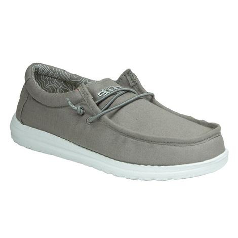 Hey Dude Wally Youth in Grey