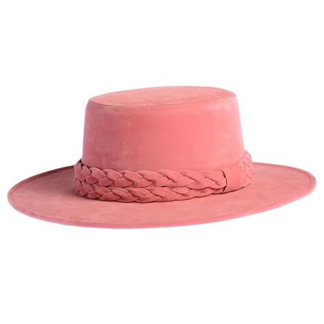 Cordobes La Vie En Rose Felt Hat by ASN Hats