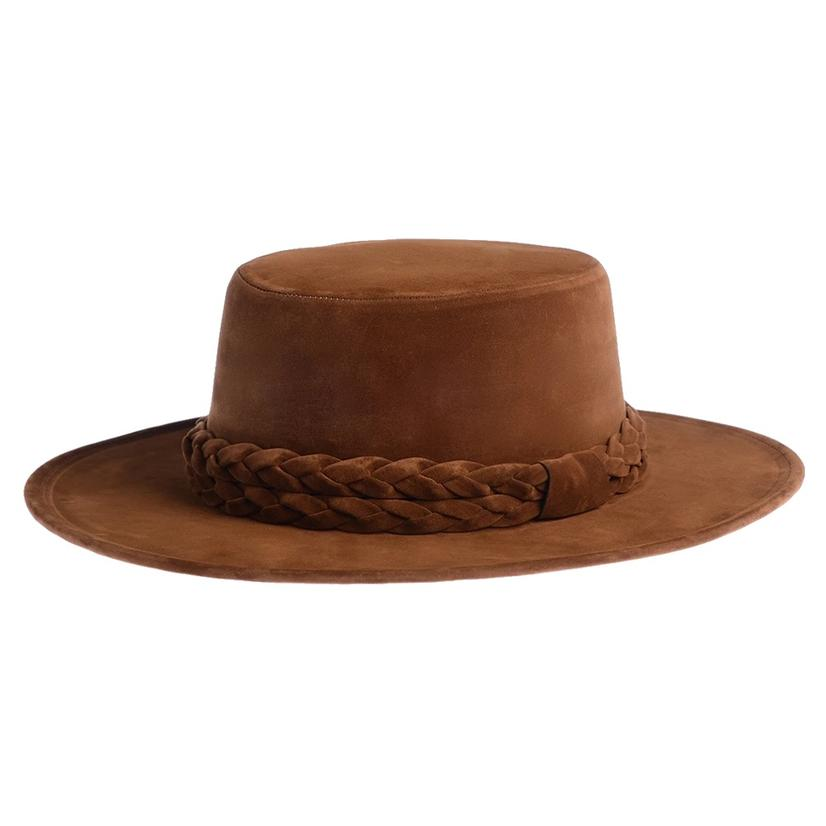 Cordobes Brown Eyed Girl Felt Hat By Asn Hats