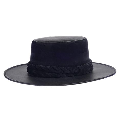 Cordobes Back in Black Felt Hat by ASN Hats