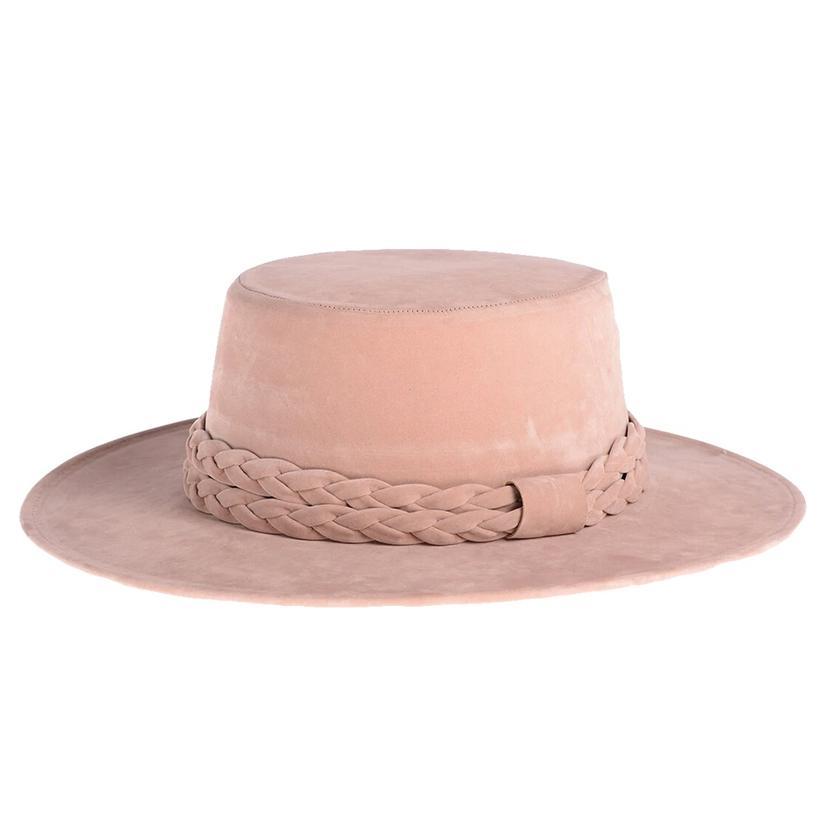 Cordobes Blush Felt Hat By Asn Hats