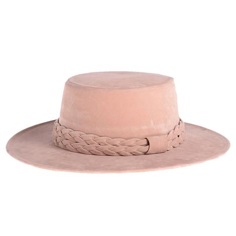 Cordobes Blush Felt Hat by ASN Hats
