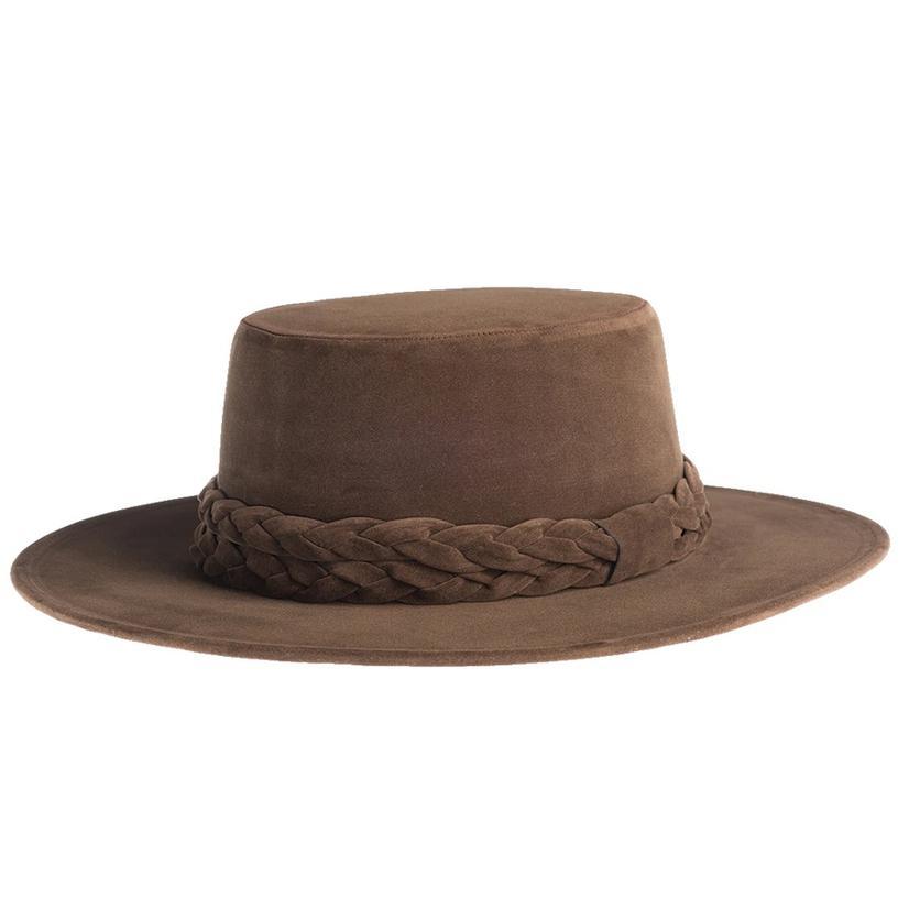 Cordobes Tobacco Felt Hat By Asn Hats