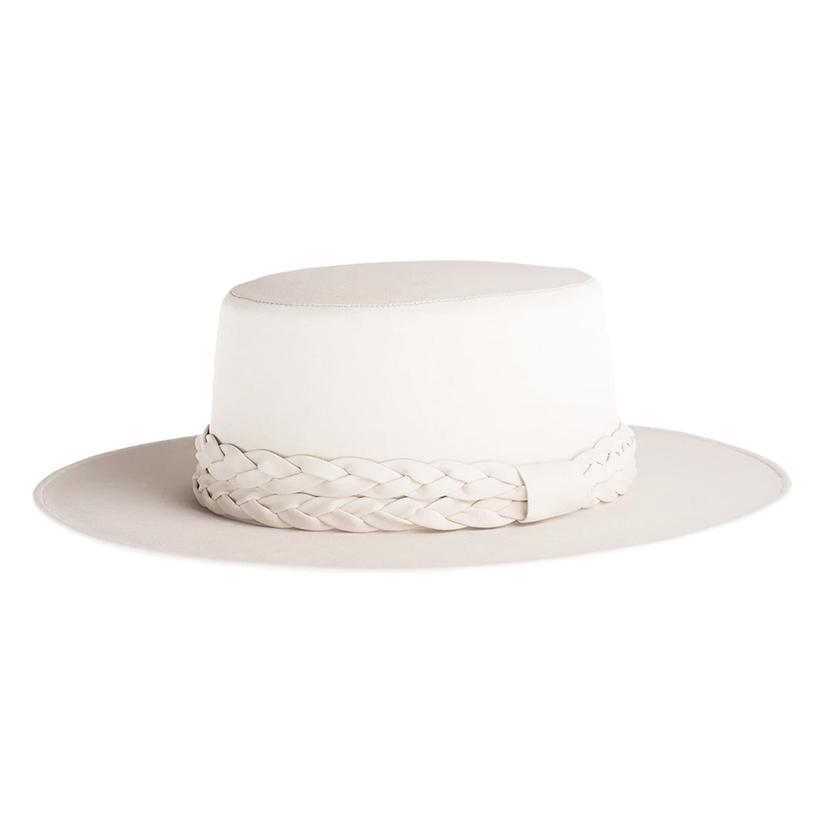 Cordobes Off White Felt Hat By Asn Hats