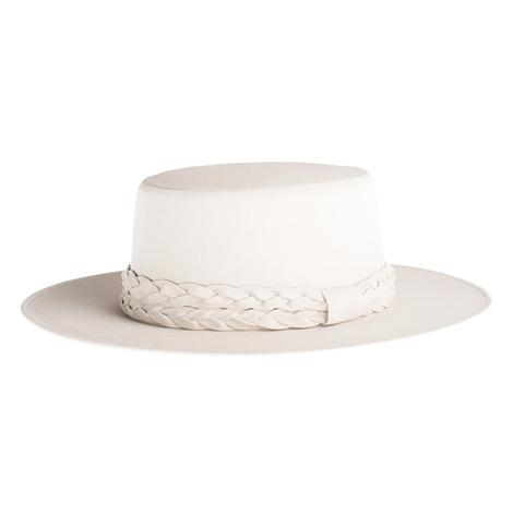 Cordobes Off White Felt Hat by ASN Hats