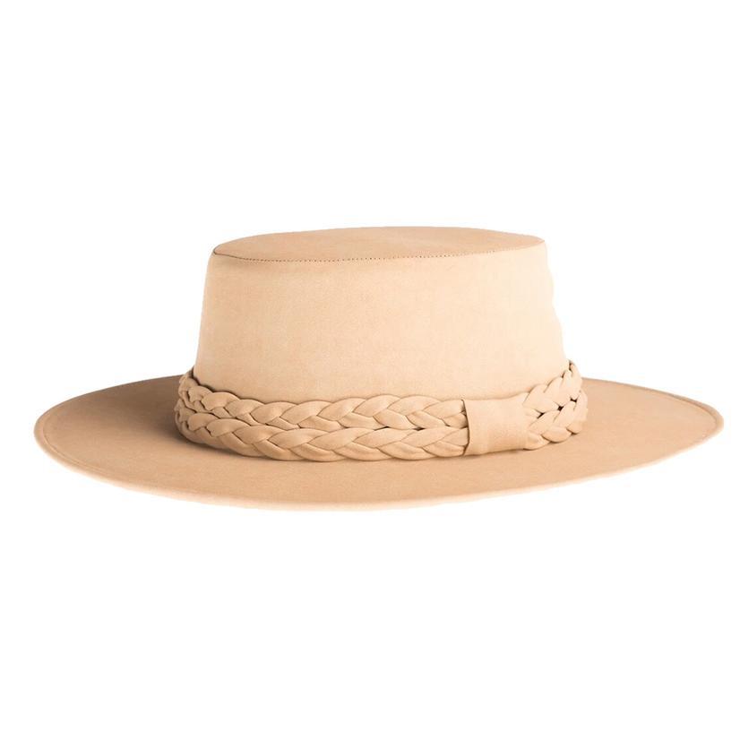 Cordobes White Horse Felt Hat By Asn Hats
