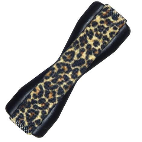 Love Handle Black Leopard Phone Grip