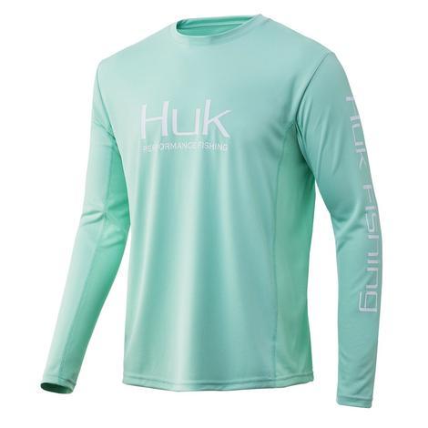 HUK Icon X Men's Lichen Long Sleeve Shirt