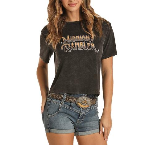 Rock and Roll Cowgirl Midnight Rambler Women's Tee