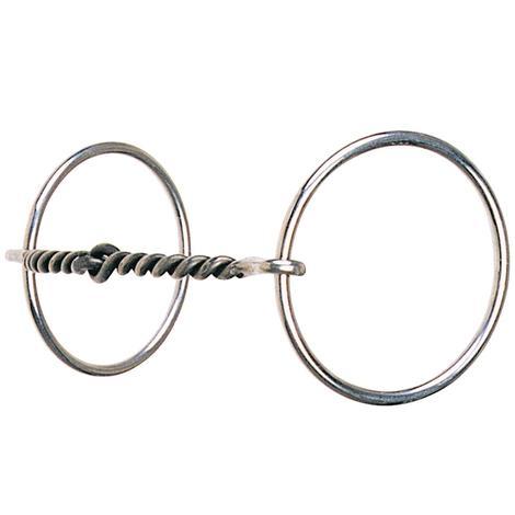 Reinsman Light Ring Small Sweet Iron Twist Snaffle