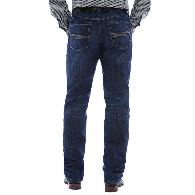 Cinch Jesse Slim Straight Leg Dark Wash Men's Jeans