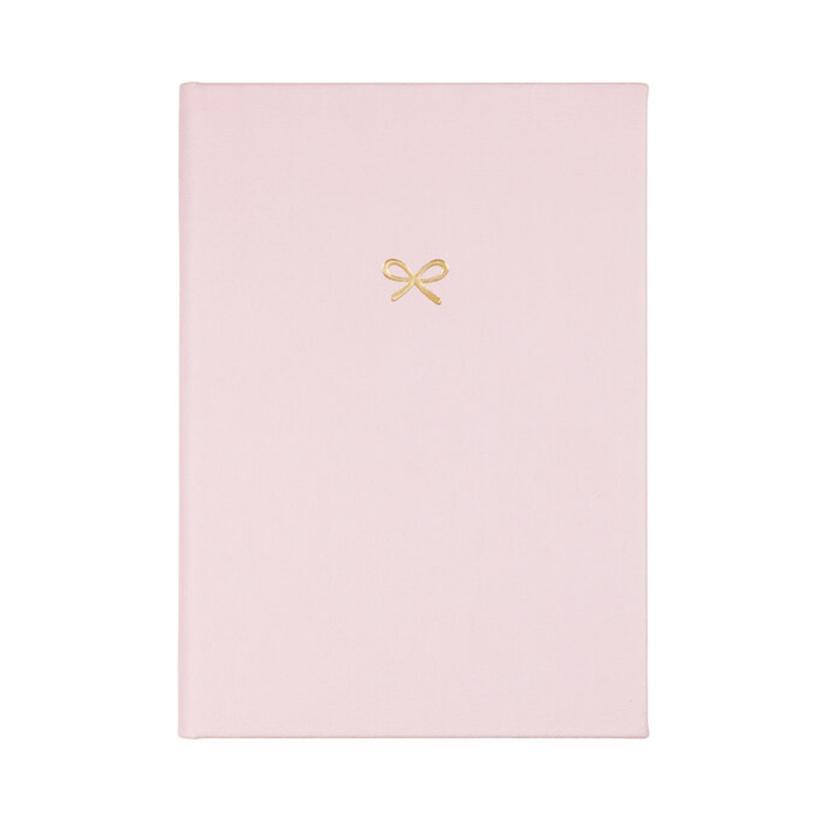 Golden Bow Pink Password Keeper