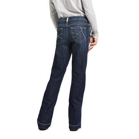 Ariat REAL Ella Girl's Trouser Jeans
