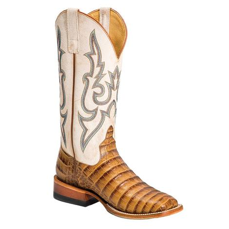 Macie Bean Toasted Caiman Print Women's Boots