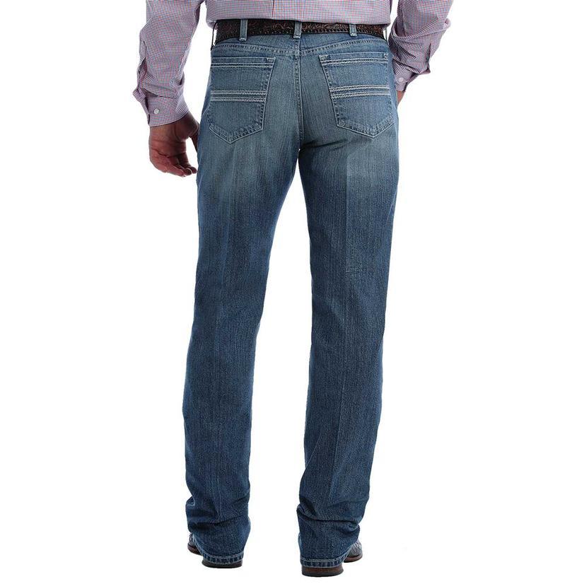 Cinch Silver Label Medium Stonewash Straight Leg Men's Jeans