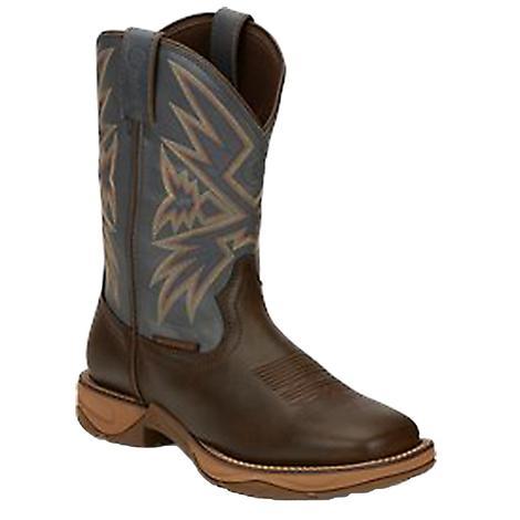 Tony Lama Bartlett Coffee Waterproof Soft Toe Men's Boots
