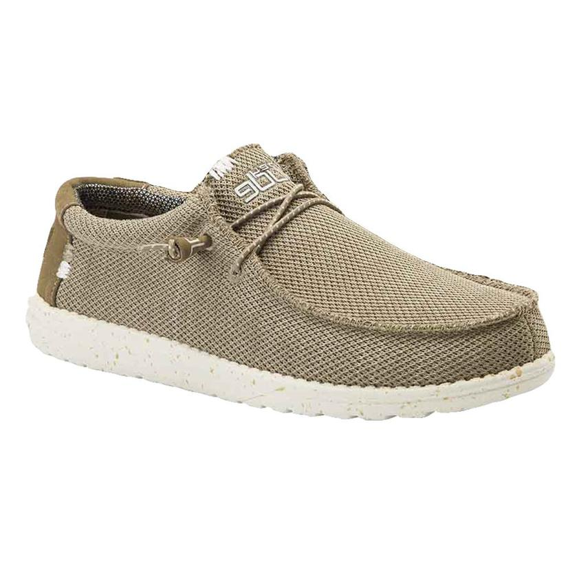 Hey Dude Wally Sox Sand Men's Shoes
