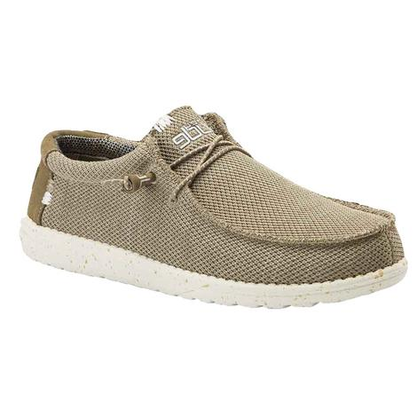 Hey Dude Wally Sox Sand Men's Shoes