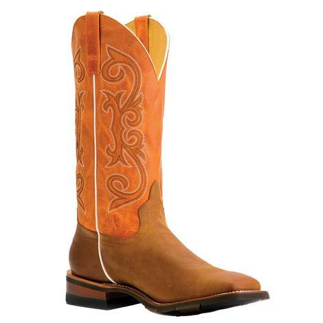 Horsepower Orange Pecan Barking Iron Men's Boots