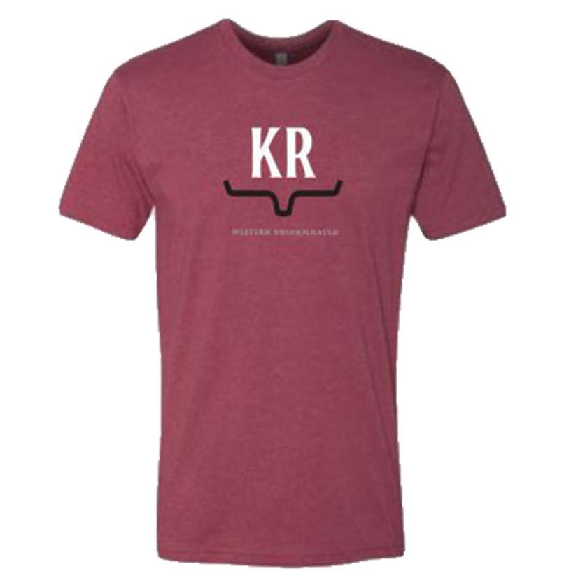 Kimes Ranch Cardinal Rise Men's Tee