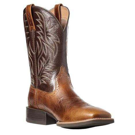 Ariat Sport Western West Peanut Brown Men's Boots