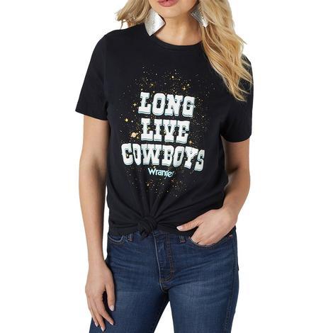 Wrangler Long Live Cowboys Women's Tee