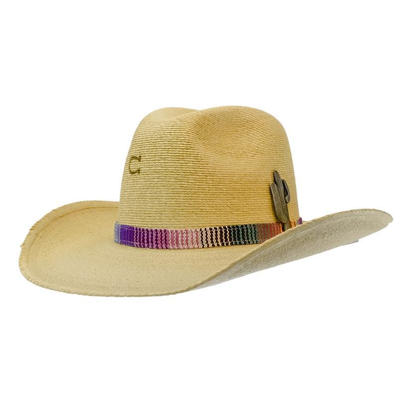 Charlie 1 Horse Poncho Straw Hat