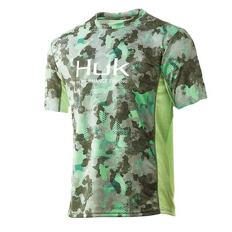 HUK Icon X KC Refraction Short Sleeve Men's Shirt