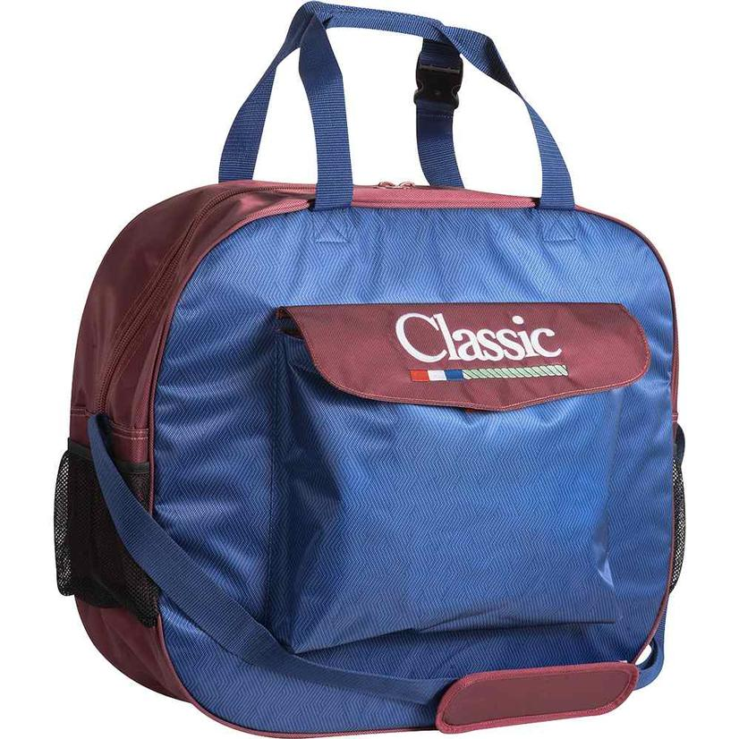 Classic Rope Basic Rope Bag - Assorted Colors NAVY/MERLOT