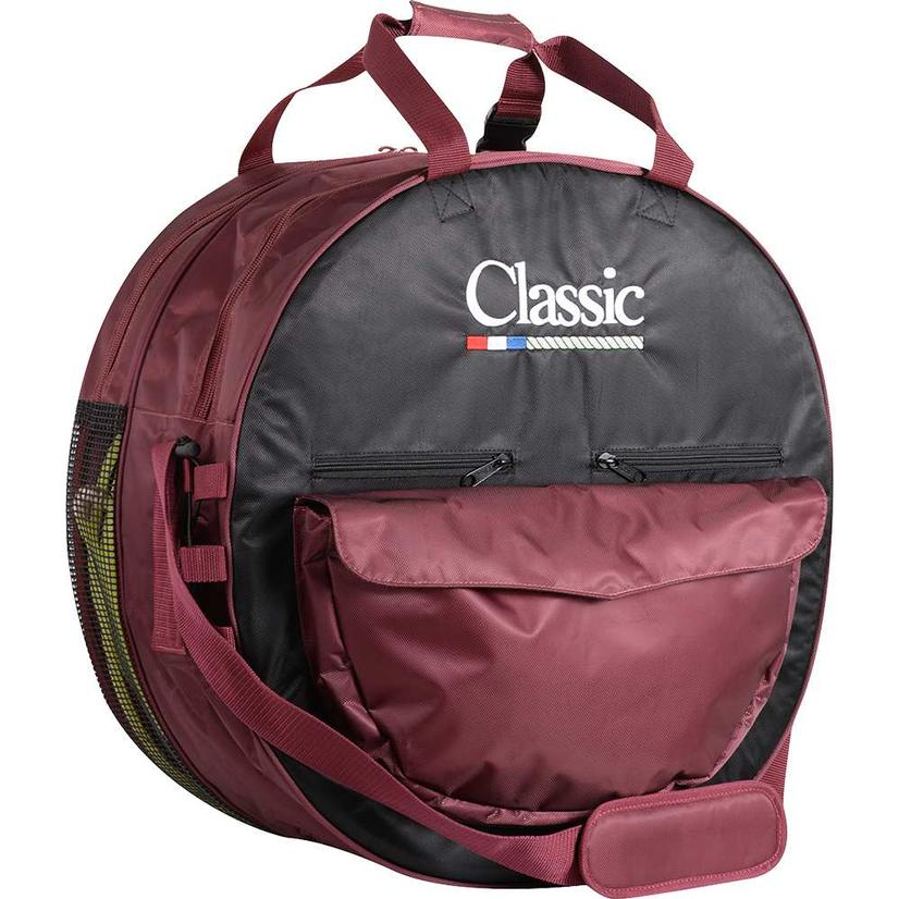 Classic Rope Deluxe Rope Bag - Assorted Colors BLACK/MARSALA
