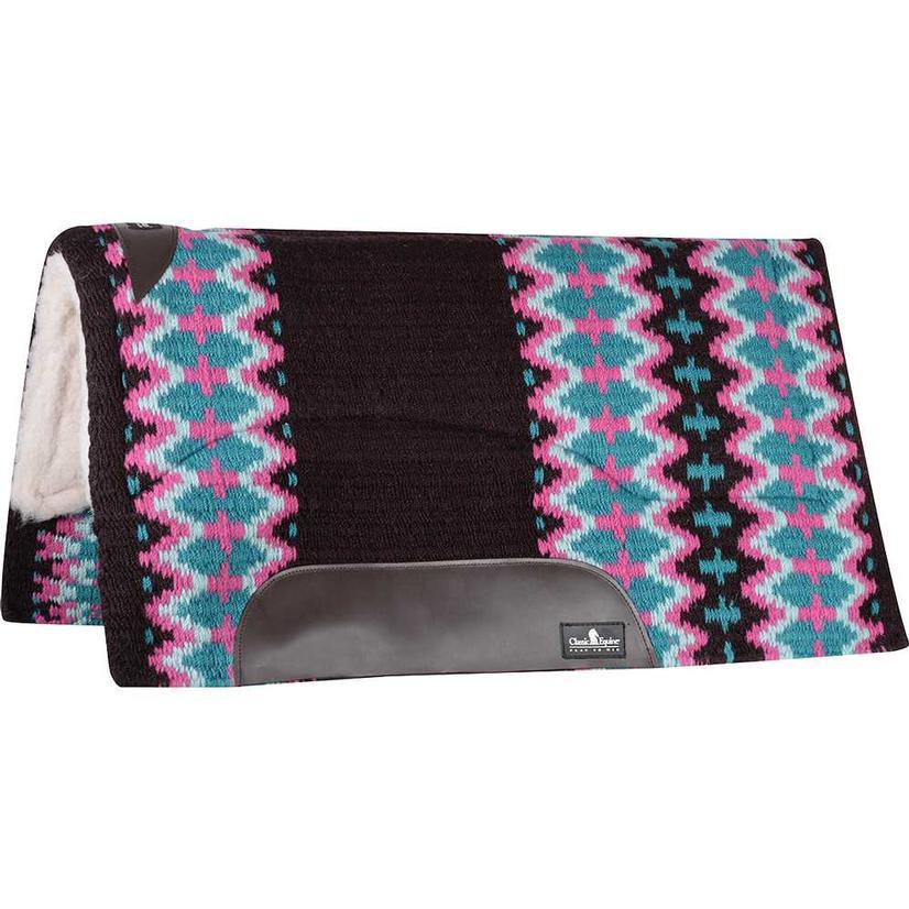 Sensorflex Wool Top Pad 32x34 CHOCOLATE/TEAL