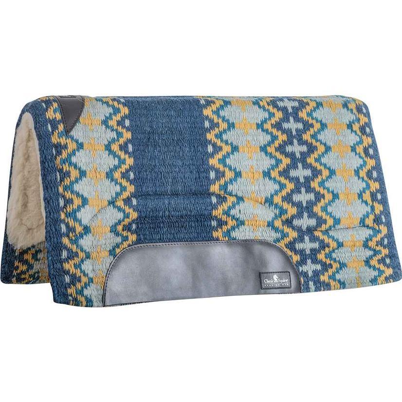Sensorflex Wool Top Pad 32x34 NAVY/SEAFOAM