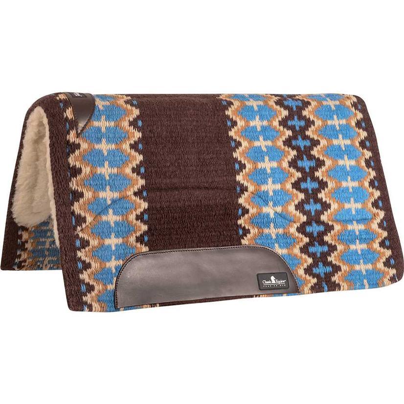 Sensorflex Wool Top Pad 34x38 COFFEE/MALIBU