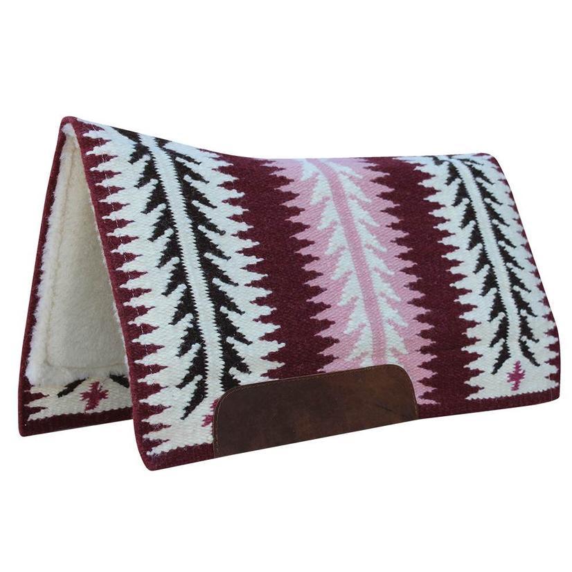 Professional Choice Ventana Contour Blanket 33x38 CRANBERRY