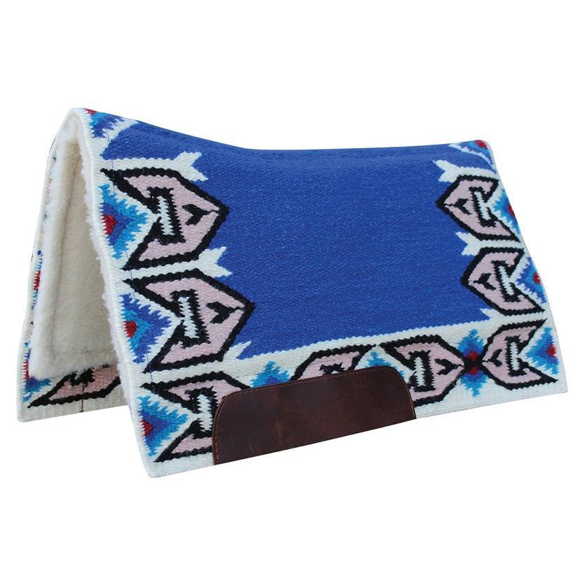 Professional Choice Ocotillo Contour Blanket 33x38 ULTRAMARINE